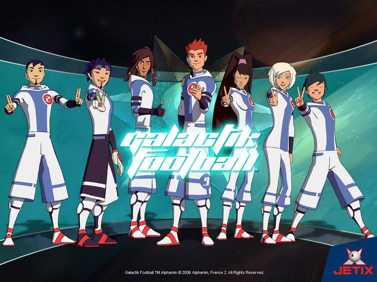 Galactik Football: Thraan, Ahito, Rocket, D'Jok, Mei, Tia & MicroIce.