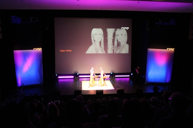 Live Performance Audio, Lighting and Projection (Harp Twins)