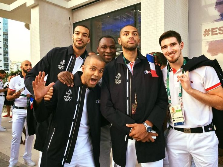 Rio Opening Ceremony: Behind the scenes with the Olympians - Tony Parker | France | Basketball Before the Olympic Ceremony! Facebook/tp9network