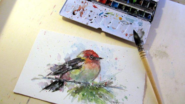 Sennelier artists watercolors jollpaintings by joll