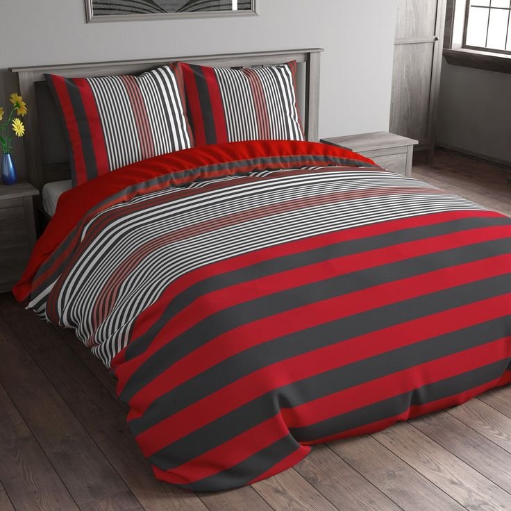 Heb je een mooi gestylde kamer met een strak interieur? Dan past dit dekbedovertrek Bond Stripe van het bekende merk Sleeptime er perfect bij! De naam Bond Stripe zegt het al. Het dekbedovertrek is gestreept met verschillende kleuren. Er zit een speels effect in de breedte van de strepen. Dit geeft een moderne finishing-touch. Sleeptime vervaardigd de dekbedovertrekken van microvezel. Dit is iets heel bijzonders: Lekker zacht, soepel vallend, vochtregulerend, comfortabel, strijkvrij en zeer…