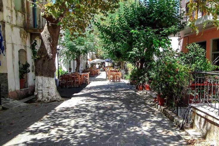 Greece Is.Ikaria...Raches city