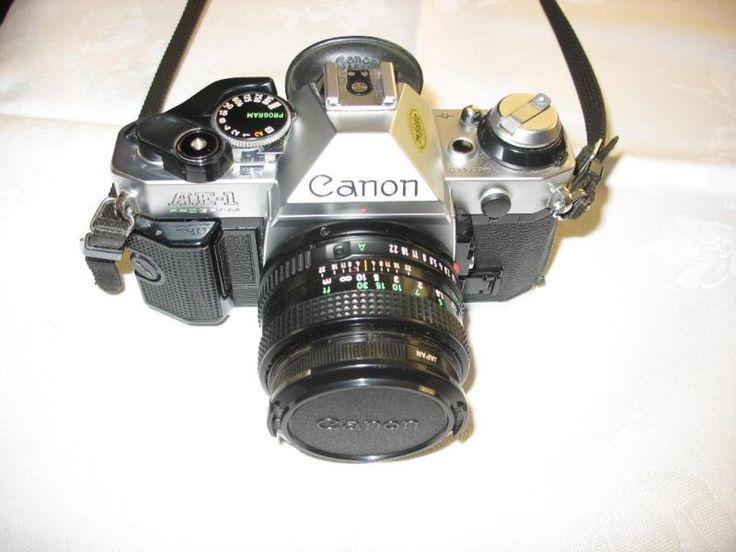 AE1 50mm 1:1,8 Objektiv von Canon, ein Teleobjektiv Makinon 1:4,5 80-200mm, ein Weitwinkelobjektiv 1:2,8 28mm | 130€