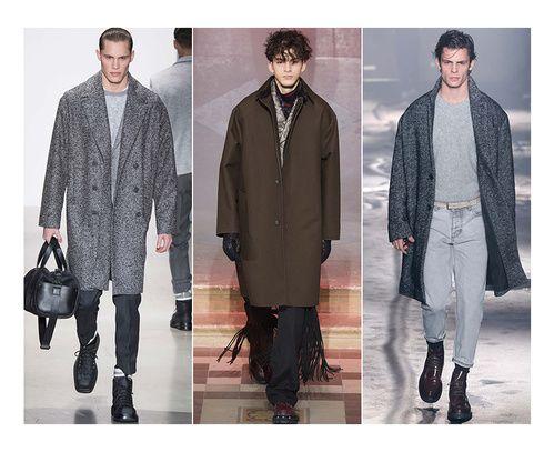 les 14 tendances homme de l 39 automne hiver 2015 2016 coats fashion weeks and the o 39 jays. Black Bedroom Furniture Sets. Home Design Ideas