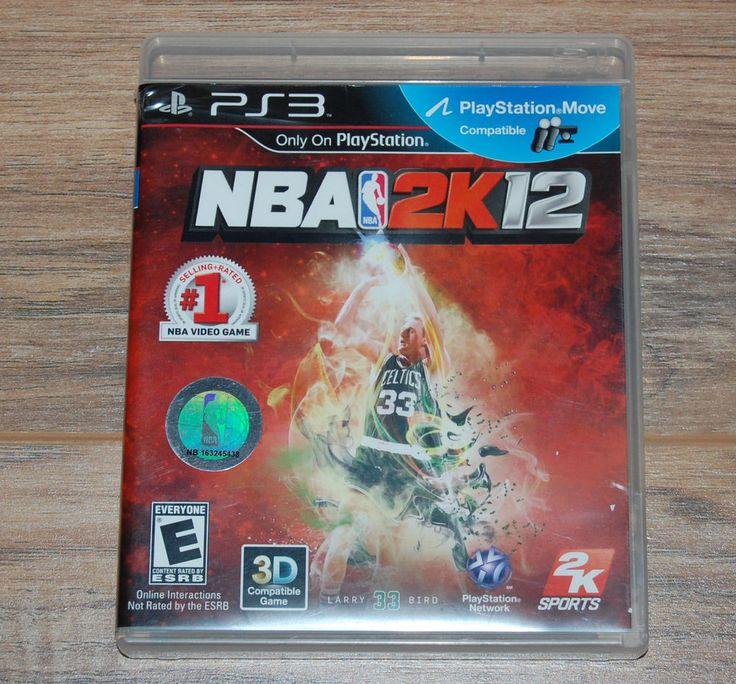 NBA 2K12 PS3 Playstation 3 Larry Bird Basketball Video Game