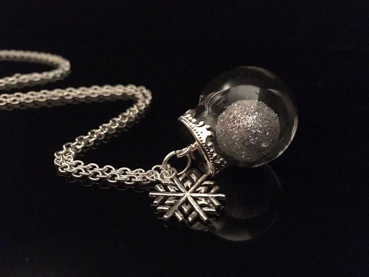 """Schmuck - Kette """"silberne Weihnachten"""" - ein Designerstück von Simsalabim-SabrinaW bei DaWanda"""