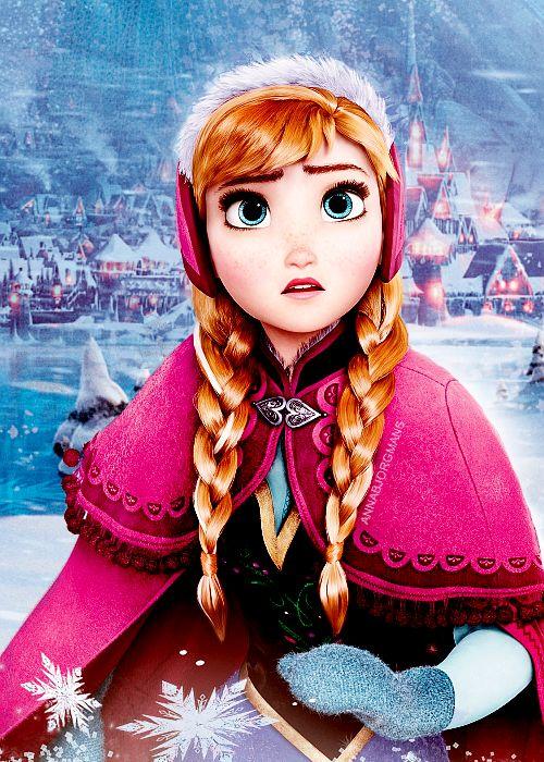 Anna, Frozen de Disney
