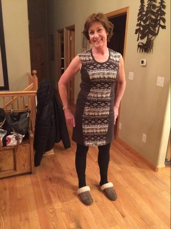 Looking for sewing project inspiration? Check out Dress for mom in law by member Alexandra Holm.