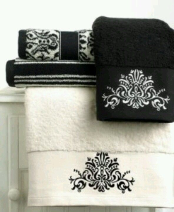 Best Towel Folding Images On Pinterest Toilets Towel And DIY - Black and gold hand towels for small bathroom ideas
