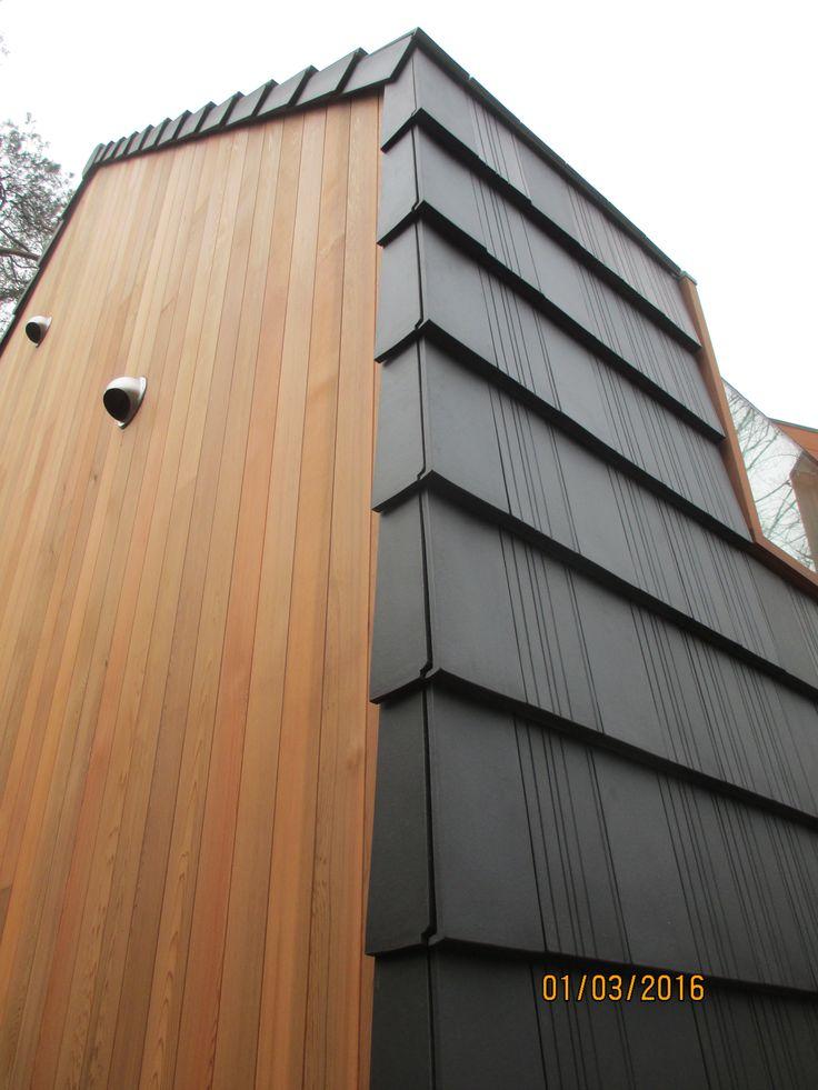 ventilated rainscreen facade, selfbuild