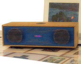 HandMade Wooden Speaker by BiadliShop on Etsy