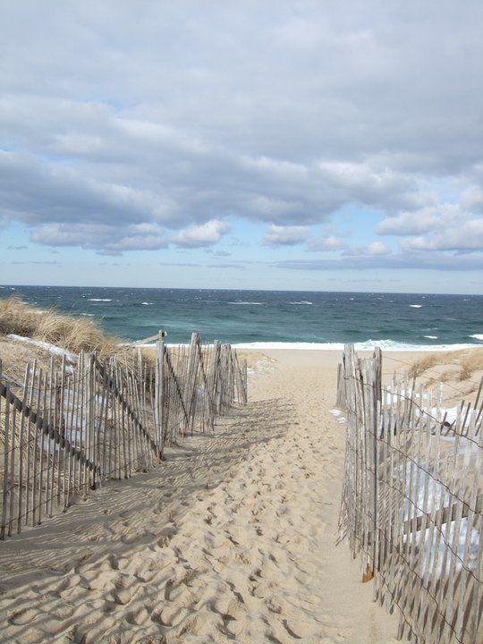A beach view will do