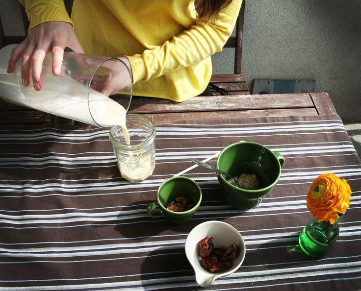 Diviértete elaborando leches vegetales crudas, recién exprimidas, con todos sus nutrientes y sabor originales.