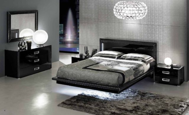 LA STAR - Composition 01 - Modern Italian Bedroom Set California King Bed