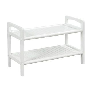 Shop for New Ridge Home Abingdon Solid Birch Wood White Large Bench. Get free shipping at Overstock.com - Your Online Furniture Outlet Store! Get 5% in rewards with Club O!