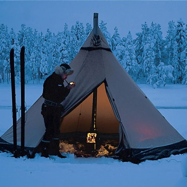 Tentipi Shelters : Quick set-up and weather-tested construction make these Swedish tents fit for the extremes or garden parties