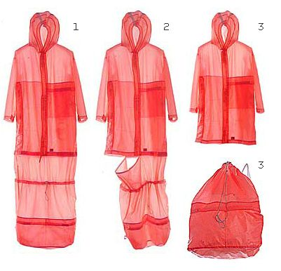 One of Moreno Ferrari's most innovative designs, the 'Sleeping Bag' from C.P. Company's 2000 Transformables collection.