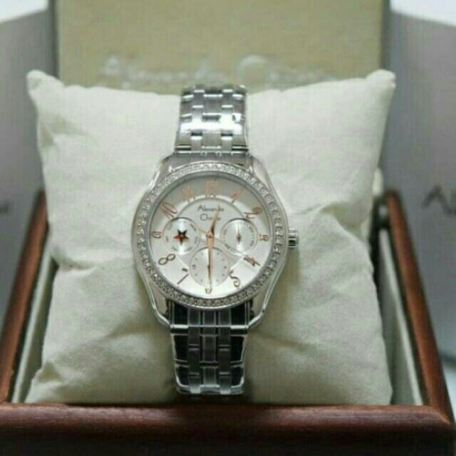 Saya menjual Jam Tangan Wanita Alexandre Christie AC 2497 silver Rantai Original Murah seharga Rp880.000. Dapatkan produk ini hanya di Shopee! https://shopee.co.id/azshop30/240232270 #ShopeeID