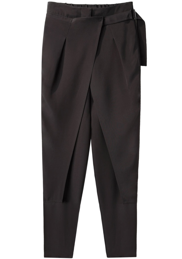 3.1 Phillip Lim / Cross Front Wrap Trouser | La Garçonne