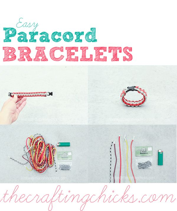 EASY EASY Paracord Safety Bracelet Tutorial with TONS of PICTURES at thecraftingchicks.com #paracord #paracordbracelet #safetybracelet #boyscrafts #crafts #craftingchicks #thecraftingchicks