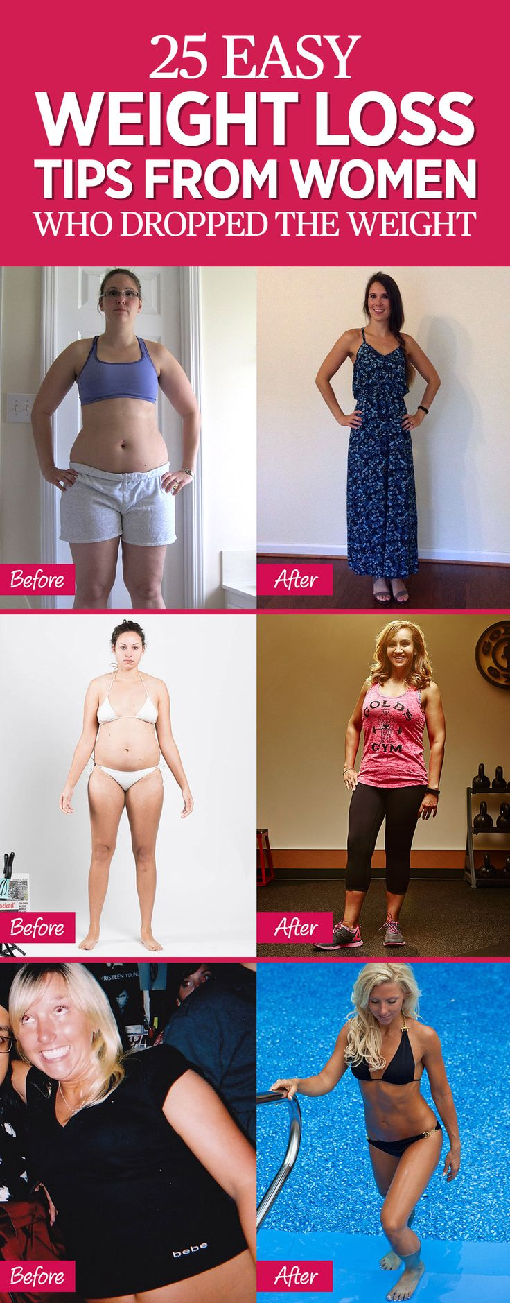 25 Simple Weight Loss Secrets From Women Who Majorly Transformed Their Bods