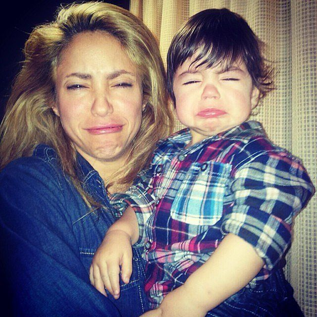 Shakira and Gerard Piqué's sweet family candids and selfies give us a peek at their daily lives with their two sons, Milan and Sasha, from their first smiles to their first goals.