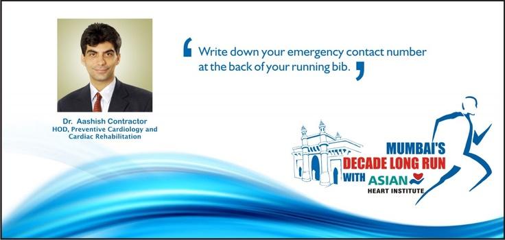 Dr. Aashish Contractor shares some tisp for running a safe Marathon