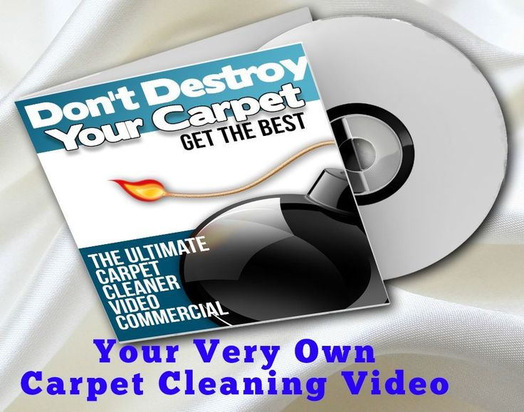 Carpet Cleaner Business Video Commercial with your branding and your information #AlienEagle