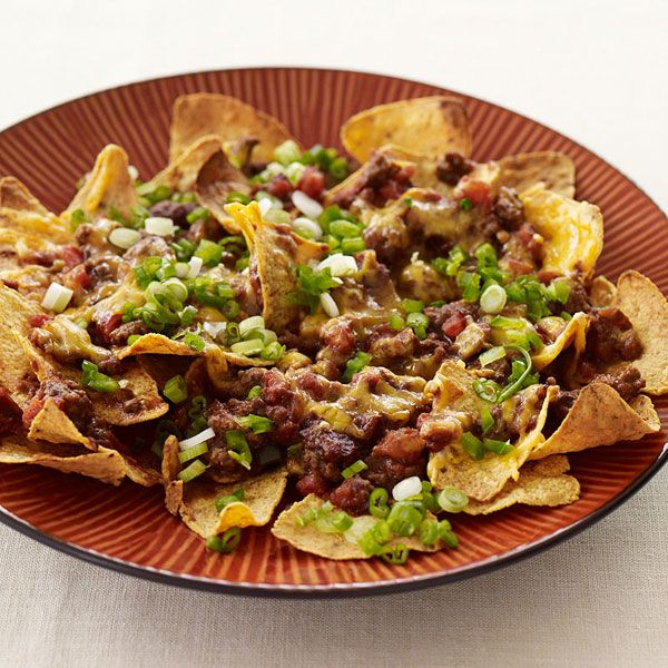 Weight Watchers Recipe - Beef Nachos been looking for a healthy nacho recipe everywhere.