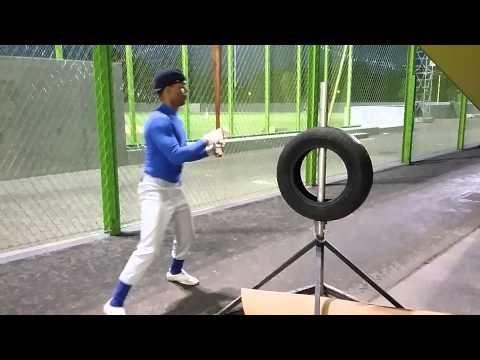 Gameday Baseball - MLB Clinics - Tire Drill - YouTube