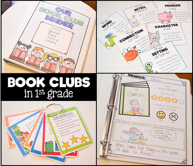 Book clubs in first grade?! It may seem like a stretch, but the Spring is such a great time to get your students ready and used ...
