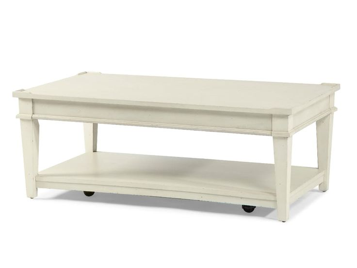 Shop for Trisha Yearwood Azaela Cocktail Table, 919-813 CTBL, and other Living Room Tables at Klaussner - Trisha Yearwood in Asheboro, NC. This off white painted finish features distressing with an aged texture to produce an authentic time worn appearance. This relaxed finish is a perfect complement for any home and offers a light accent to brighten any space.