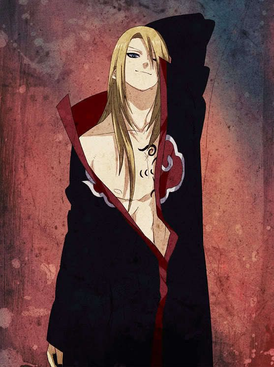Deidara the most sexy akatsuki