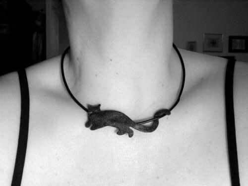 Leather necklace, handmade.  Www.feride-sign.com Www.instagram.com/feride_sign