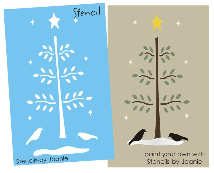 Template Printable Tree Stencils For Walls Maple Leaf Stencilwillow