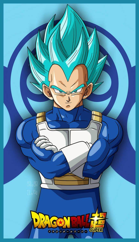 Vegeta Blue By Rizkyrobiansyah Anime Dragon Ball Super Dragon Ball Super Manga Dragon Ball Super Goku