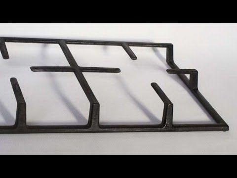 Решетка для плиты ! Быстро легко почистить | #какпочиститьрешетку #edblack - YouTube