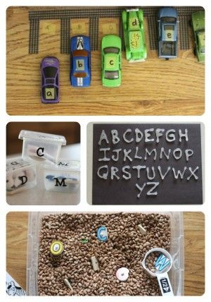 35+ Alphabet Activities by www.icanteachmychild.com . Great ideas!