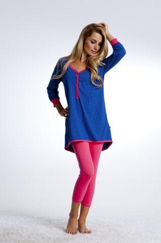 Piżama w kropeczki PD-4030