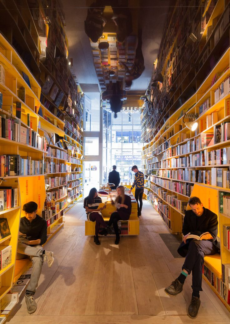 To celebrate World Book Day, we've rounded up every bookshop ever published on Dezeen