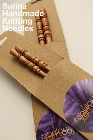 Surina Wooden Knitting Needles