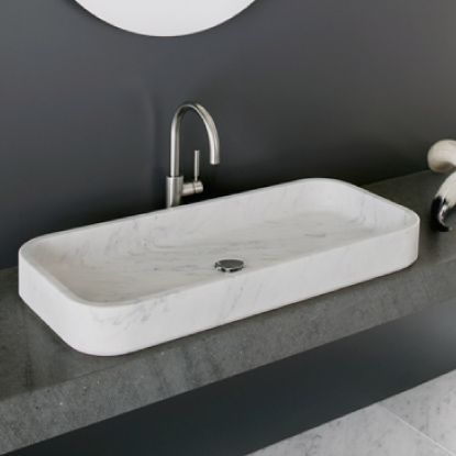 Washbasin Nest: #bathroom, #washbasins, #stone, #design, #madeinitaly, #naturalstone, #interior, #architecturedesign, #interiordesign,