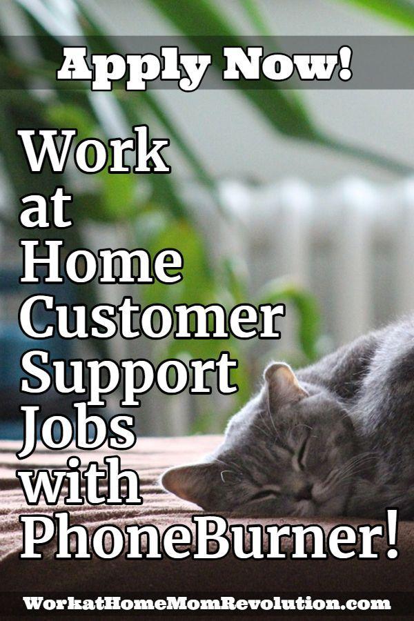 Home Based Customer Support Job With Phoneburner Customer