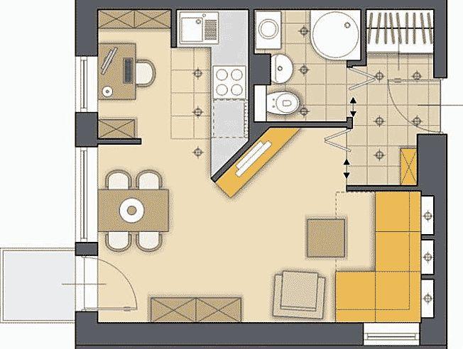 гардеробная в спальне план - Поиск в Google