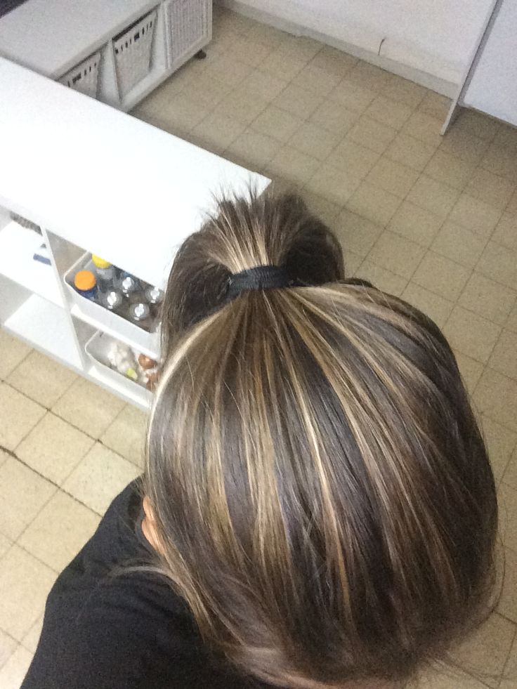 Blondish Sun Kissed Highlights On Dark Brown Hair Hair