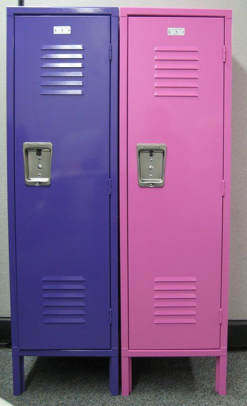 Scratch/Dent Used Kids Lockers for sale! We currently have two white lockers (similar size and dimensions as the ones pictured) available. Have some minor cosmetic damage but nothing that affects their overall functionality! Your kids will love having lockers of their very own to store all of their toys, games, books and more! #usedlockers #kidslockers