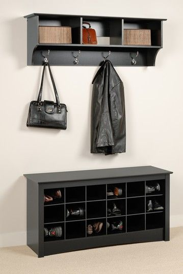 Storage Solutions- Entryway Cubby Shelf.  Perfect for purses and winter accessories (gloves, hats, scarves, head bands, etc.)