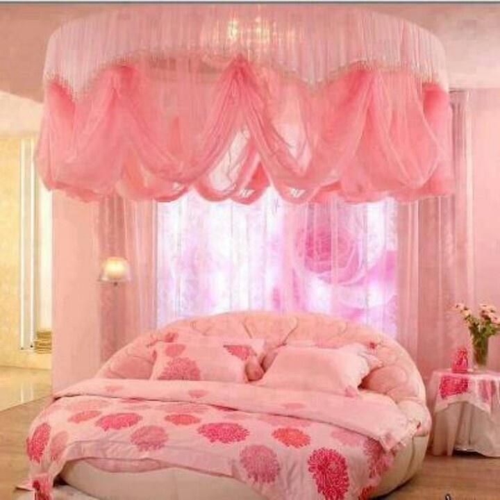 Pink Girly Bedroom Accessories: Pink Girly Bedroom. Love It.