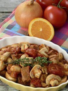 Un grand classique de la cuisine française : le veau Marengo.