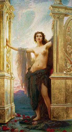 Herbert James Draper - The Gates of Dawn: